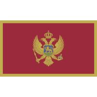 Autocollant Drapeau Montenegro