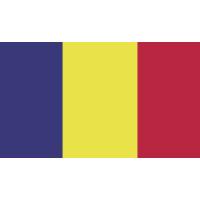 Autocollant Drapeau Roumanie