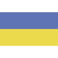 Autocollant Drapeau Ukraine