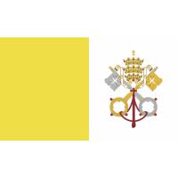 Autocollant Drapeau Vatican