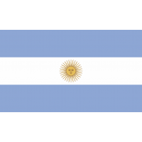Autocollant Drapeau Argentine 1