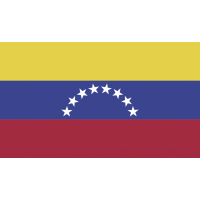Autocollant Drapeau Venezuela
