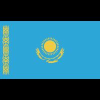 Autocollant Drapeau Kazakhstan