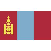 Autocollant Drapeau Mongolie