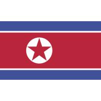 Autocollant Drapeau Corée Du Nord