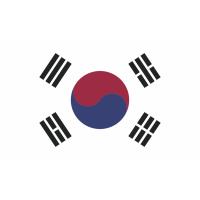 Autocollant Drapeau Corée Du Sud