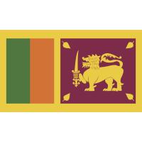 Autocollant Drapeau Sri Lanka