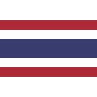 Autocollant Drapeau Thailand