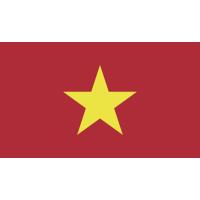 Autocollant Drapeau Vietnam 1