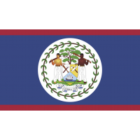 Autocollant Drapeau Belize