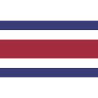 Autocollant Drapeau Costa Rica