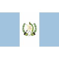 Autocollant Drapeau Guatemala