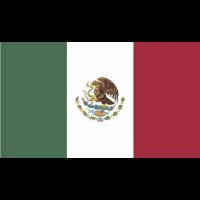Autocollant Drapeau Mexique 1