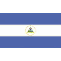 Autocollant Drapeau Nicaragua