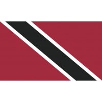 Autocollant Drapeau Trinidad