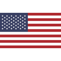 Autocollant Drapeau Etats Unis