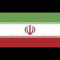 Autocollant Drapeau Iran