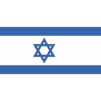 Autocollant Drapeau Israël 1