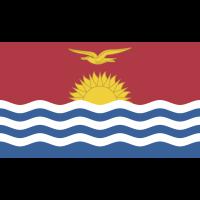 Autocollant Drapeau Kiribati