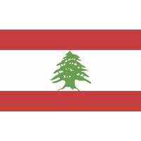 Autocollant Drapeau Liban