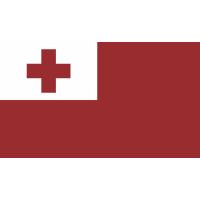 Autocollant Drapeau Tonga