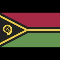 Autocollant Drapeau Vanuatu