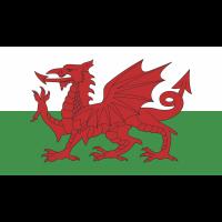 Autocollant Drapeau Pays De Galles