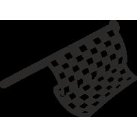 drapeau damier