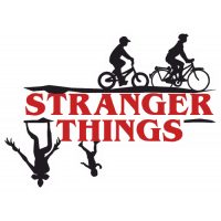 Autocollant Stranger Things