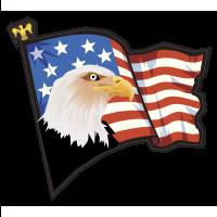drapeau aigle