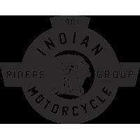 Sticker INDIAN LOGO BLASON