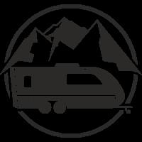 Sticker Déco Baril Caravane