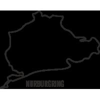 Sticker Circuit Nürburgring