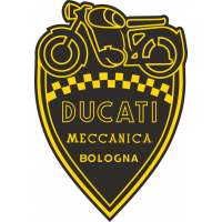 Sticker LOGO DUCATI MECCANICA BOLOGNA