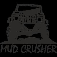 Sticker 4x4 Mud Crusher