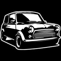 Sticker MINI Cooper 3 car