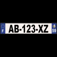 Aluminium AUTO SIV 52x11 cm