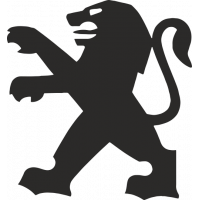 Sticker Logo Peugeot Mobylette
