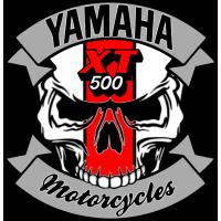 Sticker YAMAHA 500XT Skull