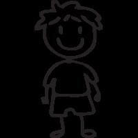 Sticker Famille Petit Garçon 3