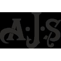Sticker MOTO A.J.S Logo
