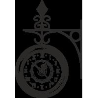 Sticker Horloge Vintage 5