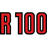 Sticker BMW R 100 Rouge