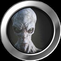 Sticker Hublot Alien 3