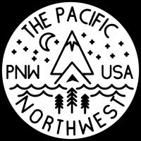 Sticker Paysage Camping Car