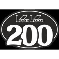 Sticker SUZUKI VANVAN 200