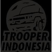 Sticker ISUZU TROOPER