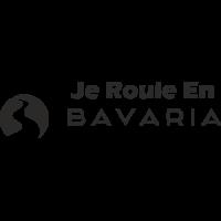Sticker Je roule en Bavaria