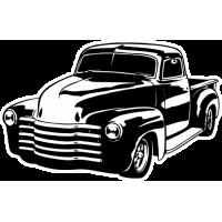 Sticker CHEVROLET Truck
