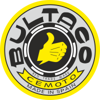Sticker MOTO BULTACO Logo